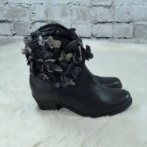 Sheridan Mia Butterfly Black Leather Boots